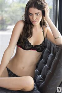 Laura Christie in lingerie