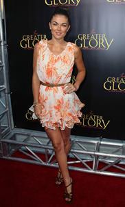 Serinda Swan - For Greater Glory premiere in Los Angeles, May 31, 2012