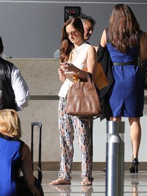 Minka Kelly leaves a meeting in Century City January 17, 2013