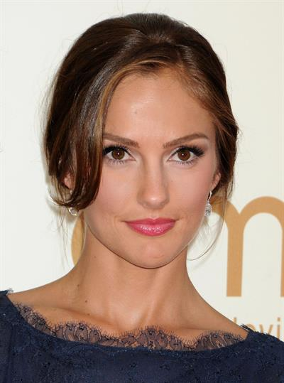 Minka Kelly 63rd annual Primetime Emmy Awards on September 18, 2011
