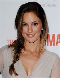 Minka Kelly premiere of The Roommate on January 23, 2011