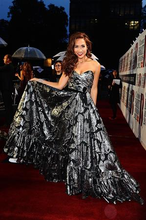 Myleene Klass The Classic BRIT Awards - October 2, 2012