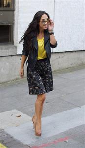 Myleene Klass - London Studios - September 10, 2012