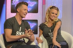 Pamela Anderson This Morning TV Show in London 07.01.13