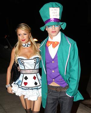 Paris Hilton - Halloween Party in Beverly Hills 10/26/12