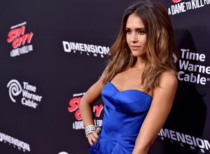 Jessica Alba Sin City: A Dame to Kill For Los Angeles premiere August 19, 2014