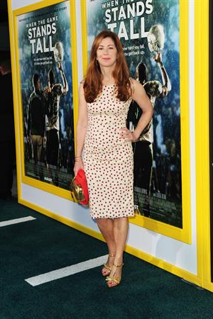 Dana Delany premiere of When The Game Stands Tall August 4, 2014