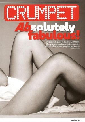 Abigail Clancy Loaded Magazine June 2010