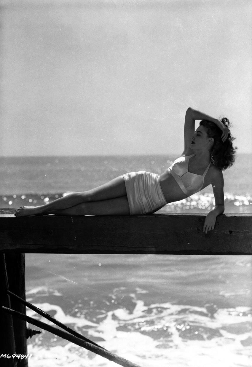 Ava Gardner in a bikini