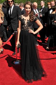 Troian Bellisario 2014 Creative Arts Emmy Awards, Los Angeles August 16, 2014