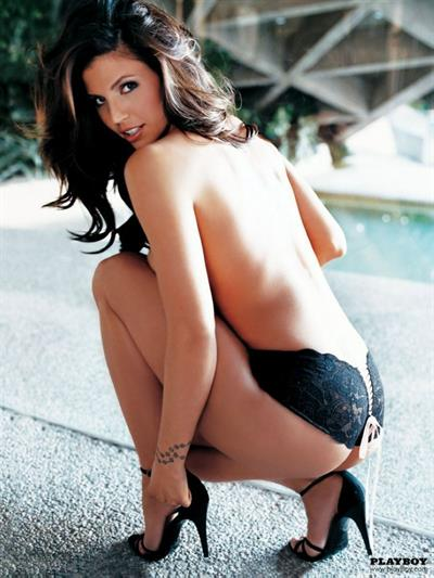 Charisma Carpenter in lingerie