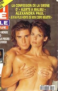 Alexandra Paul - Cine Revue Magazine No.9 1996