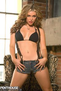 Heather Van Deven in lingerie