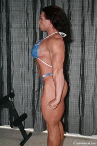 Isabelle Turell in a bikini