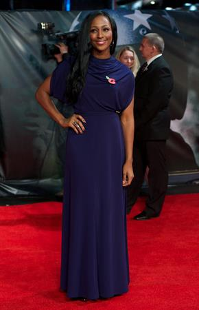 Alexandra Burke - The Life of an Icon Premiere 2-11-2011