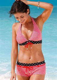Carla Ossa in a bikini