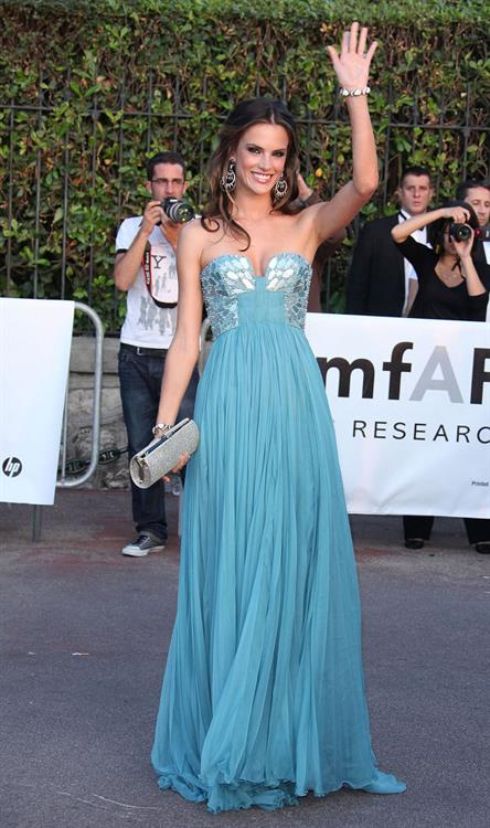 Alessandra Ambrosio Amfars Cinema Against AIDs Gala in Antibes France on May 19, 2011