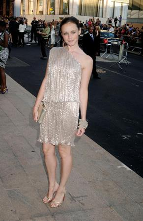 Alexis Bledel CFDA Fashion Awards on June 7, 2010 in New York City