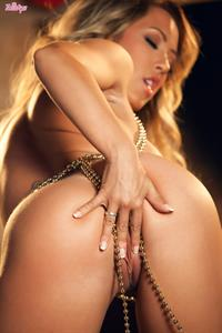 Capri Cavanni Twistys treat of the month for December 2014 posing solo with beads