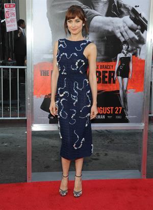 Olga Kurylenko at The November Man Los Angeles premiere August 13, 2014