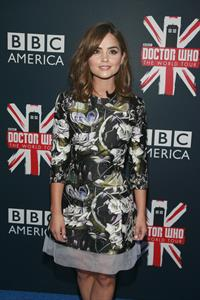 Jenna Coleman Doctor Who New York City premiere August 14, 2014