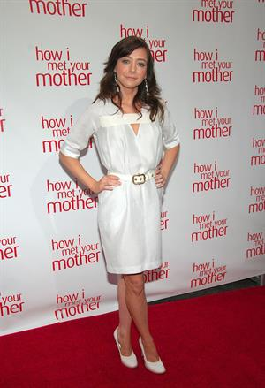 Alyson Hannigan screening of How I Met Your Mother in New York City