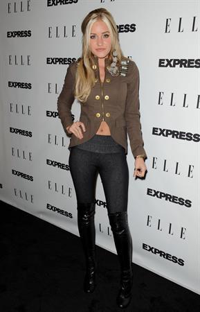 Amanda Michalka Elle and Express 25 at 25 event at Palihouse Holloway on October 7, 2010