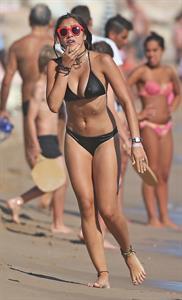 Lourdes Leon in a bikini in Cannes August 13, 2014