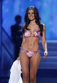Gabriela Markus in a bikini