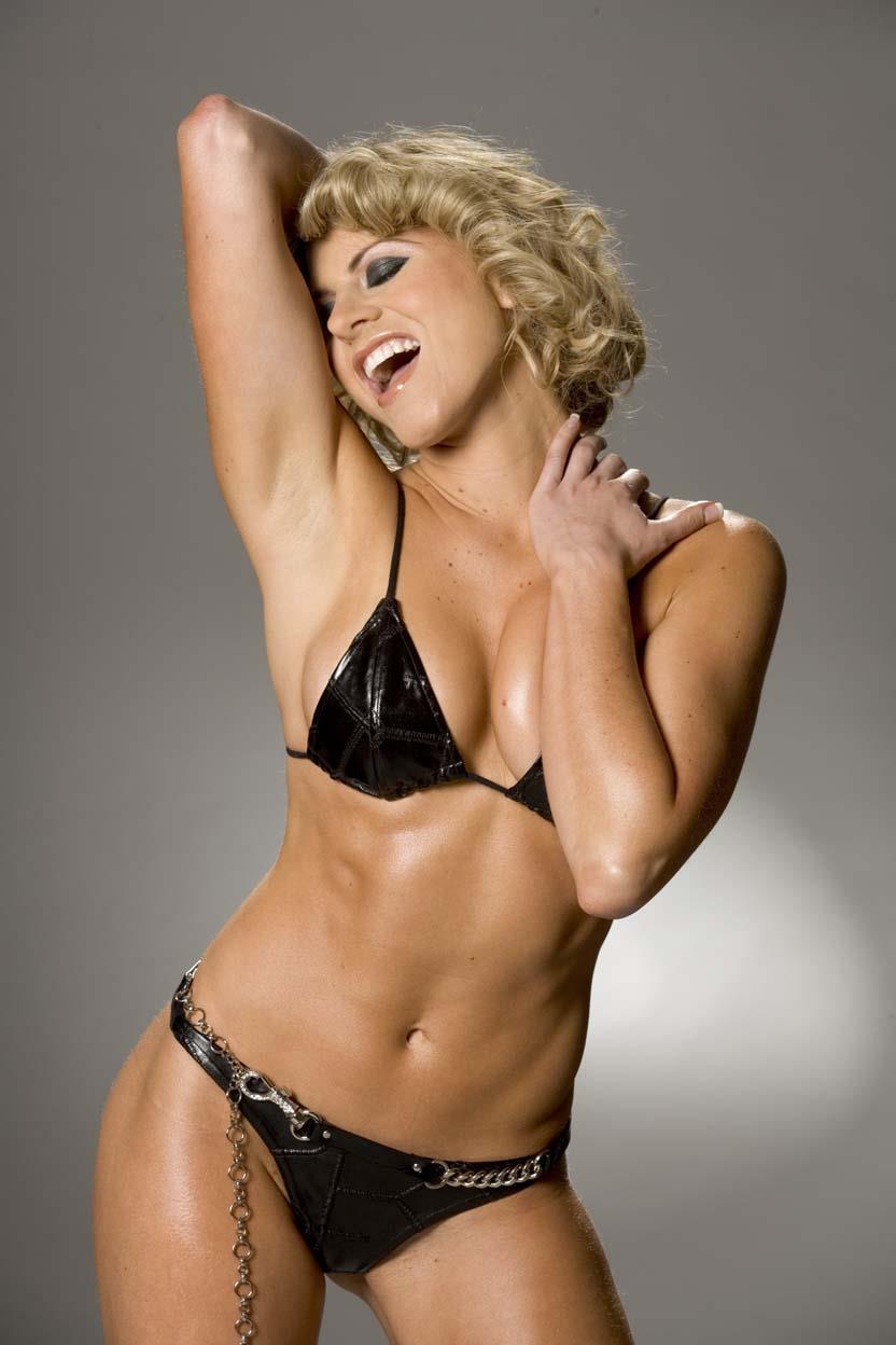 Deanne Berry in a bikini
