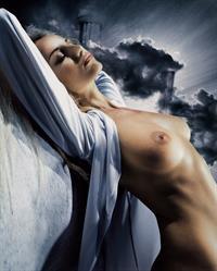 Adriana Karembeu - breasts