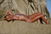 Hillary Fisher in a bikini