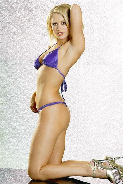 Nicky Whelan in lingerie