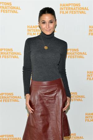 Emmanuelle Chriqui The 21st Annual Hamptons International Film Festival Day 3, on Oct 12, 2013