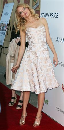 Heather Graham attending the  At Any Price  Los Angeles Premiere in Hollywood, April 16, 2013