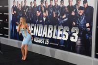 Carmen Electra attending the Expendables 3 premiere, L.A. August 11, 2014