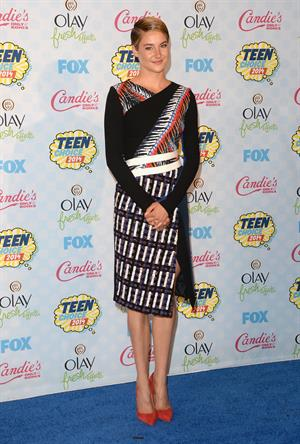 Shailene Woodley attending the 2014 Teen Choice Awards in Los Angeles on August 10, 2014