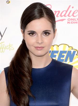Vanessa Marano attending the 2014 Teen Choice Awards in Los Angeles on August 10, 2014