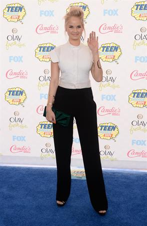Debby Ryan attending the 2014 Teen Choice Awards, Los Angeles August 10, 2014