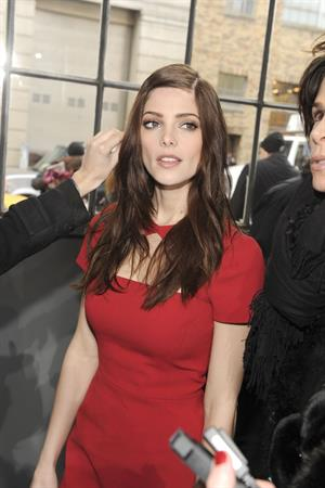 Ashley Greene attending the DKNY Fall 2012 Fashion Show in NYC Feb. 12, 2012
