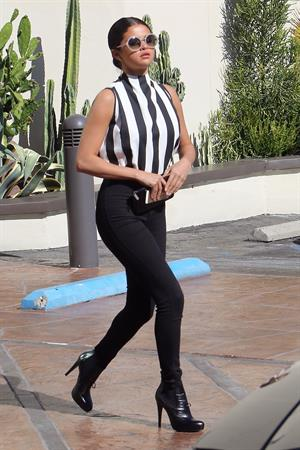 Selena Gomez leaving her office in L.A. August 05, 2014