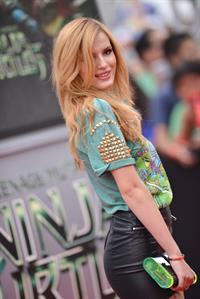 Bella Thorne at the Teenage Mutant Ninja Turtles L.A. premiere