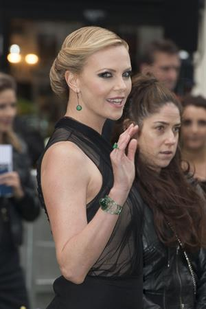 Charlize Theron and Kristen Stewart at the  Snow White And The Huntsman  World Premiere, May 14, 2012