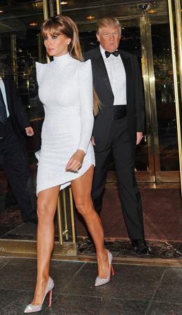 Melania Trump at the Metropolitan Museum of Arts Costume Institute Gala