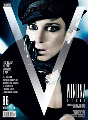 Winona Ryder – V Magazine Winter 2013/14 issue