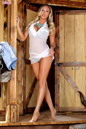 Just A Lonely Cowgirl.. featuring Samantha Saint | Twistys.com