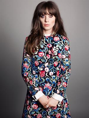 "Zooey Deschanel – by Tesh for ""Marie Claire"" Sept 2013"
