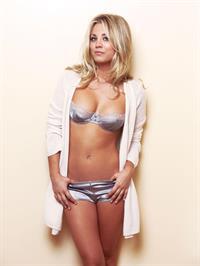 Kaley Cuoco in a bikini