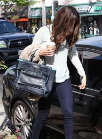 Selena Gomez walking in Los Angeles 10/3/13