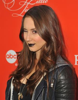 Troian Bellisario  Pretty Little Liars  Special Halloween Episode Premiere Party, 15 Oct 2013